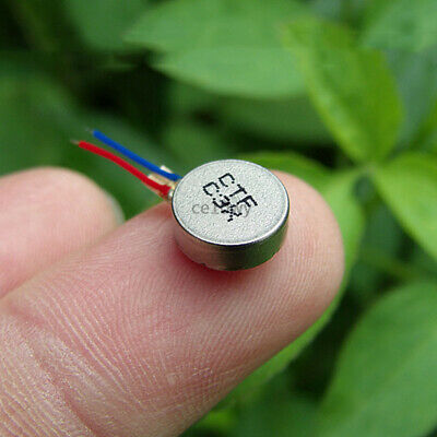 5x 9*3mm DC Vibration Motor 3-4.2V Coin Flat Vibrating Motor Pager Cell Phone