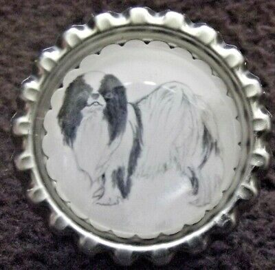Japanese Chin Dog Show Ring Clip by Curiosity Crafts