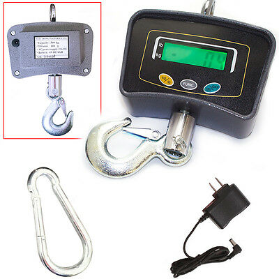 Multiple Weighing Modes Easy to Operate Digital Hanging/Crane LCD Display Scale