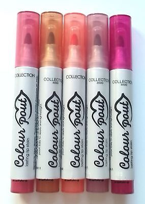 Collection Colour Pout Lasting Lip Stain Felt Tip Pen Lip Colour