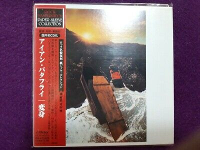 Iron Butterfly With Pinera And Rhino - Metamorphosis JAPAN MINI LP CD NEW