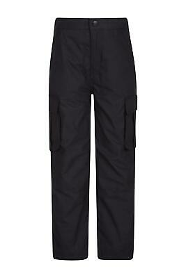 Mountain Warehouse Kids Lined Trouser Made of 65% Polyester and 35% Cotton