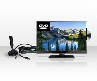 """Cello 12 Volt and Mains C22230FT2S2 22"""" LED TV with Portable Digital Aerial"""