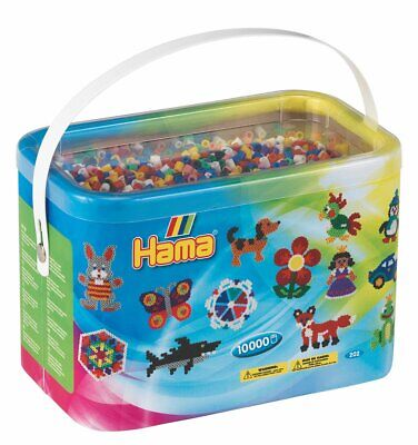 Hama 28178320140 Beads 10,000 Beads in a Bucket