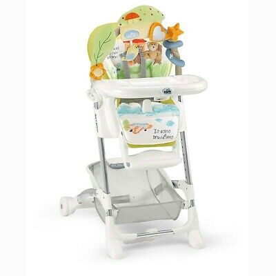 CAM Highchair For Baby Food istante 222 green