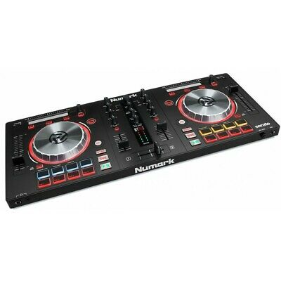 Numark MIX TRACK PRO 3 All-in-One 2 Channel USB DJ Controller Mixer