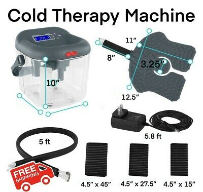 NEW Coolman CTS-001 Cold Therapy Machine for Knee Pain Arthritis Sports Ice Pack