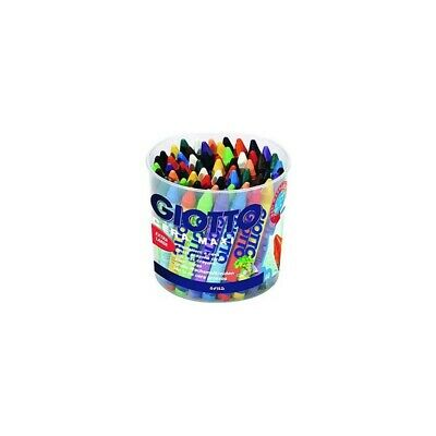 GIOTTO maxi crayons can 60 pcs assorted colours 5192