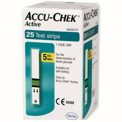 ACCU-CHEK active - 25 test-strips for blood glucose control