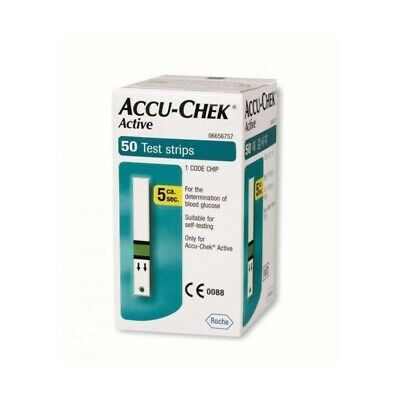 ACCU-CHEK active - 50 test-strips for blood glucose control