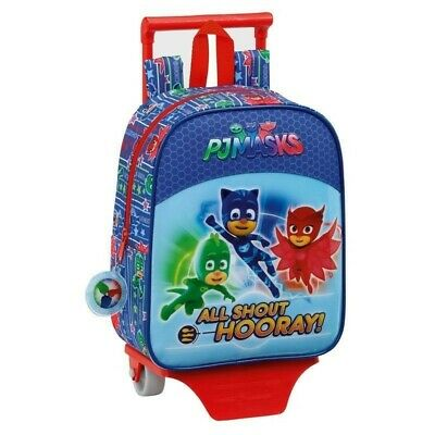 P.M.D. PjMasks school bag deluxe with trolley Cm22x10x27