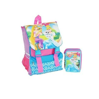 DISNEY Doubling Backpack princess + pencil case