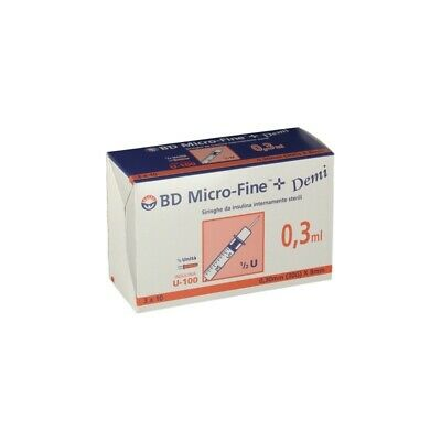CORMAN BD Micro-Fine - 30 Insulin Syringes 0,3 ml