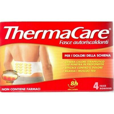 THERMACARE self-heating bands for the back - 4 bands