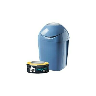 TOMMEE TIPPEE Sangenic Tec Nappy Disposal Unit Blue