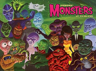 Famous Monsters Outer Limits Poster