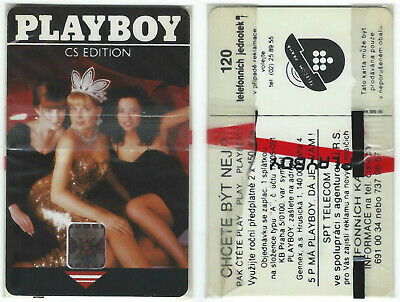 PLAYBOY Telephone Card Sealed