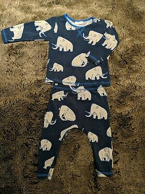 Next Baby Boy Two Piece Set Outfit Trousers Top  - 6-9 Months