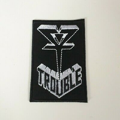 CORROSION OF CONFORMITY PATCH Embroidered Iron On SLUDGE STONER Badge Down NEW