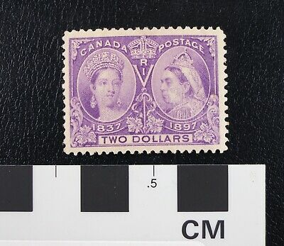 1897 Canada stamp Scott #62 Queen Jubilee Issue 2 dollars MINT VF LH: CV$2000