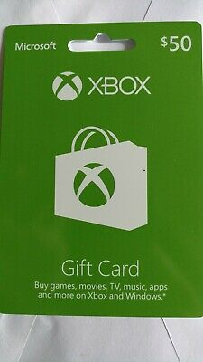Xbox Gift Card $50 Free Shipping