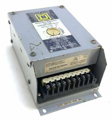 Square D GC-100 Class 1 Series 2 Delay Curve B Type GC Ground Fault Relay (AB33)