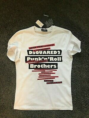 5 Sizes 4 Colours DSQUARED2  T-Shirt RRP: £104.99 Clearance Stock!