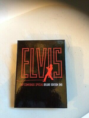 Elvis Presley - '68 Comeback Special DELUXE EDITION 3 DVD BOX SET AND BOOKLET