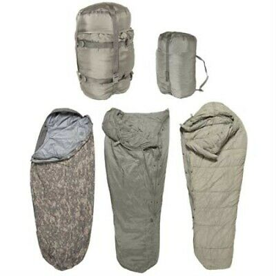 Improved Modular Sleeping Bag System 5 Piece, ACU, Used