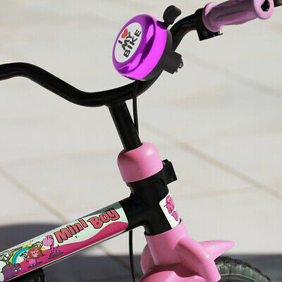 MagiDeal Kids Bike Tricycle Bell Ring Clear Loud Sound Scooter Horn Purple