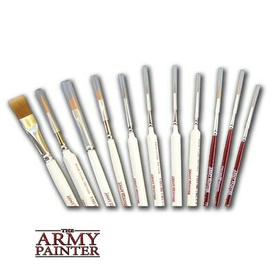 The Army Painter - Paint Brushes The Complete Range of Wargamer & Hobby brushes
