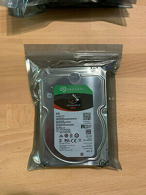 ~NEW~ 6TB Seagate IronWolf PRO SATA 6Gbps hdd Enterprise ST6000NE0023 Win/Mac