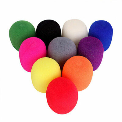 Reusable Colorful Windscreen Microphone Cover Foam Foaming Sponge Mic Protect