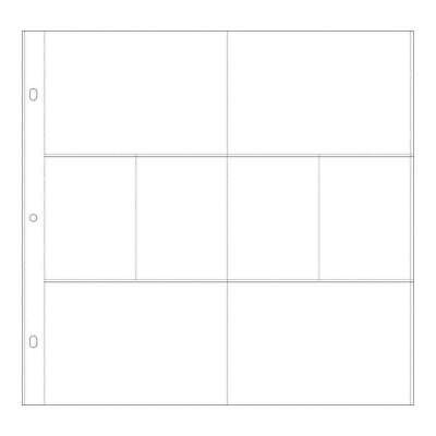 Kaisercraft - D-Ring Album Page Protectors 12 inch X12 inch 10 pack (4) 3 inc...
