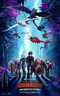 How To Train Your Dragon: The Hidden World Blu-ray DVD Digital Download