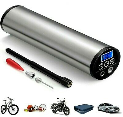 Mini Inflator Electric Portable Car Pump Auto Air Compressor With LCD Display