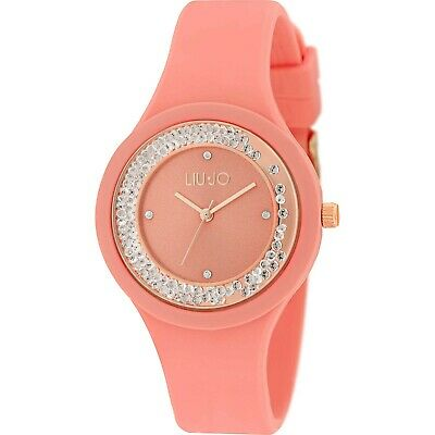 Orologio Liu-Jo Luxury Dancing Sport In Silicone - Tlj1422 Rose Gold Pesca
