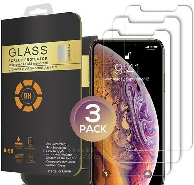 SCREEN PROTECTOR PREMIUM TEMPERED GLASS 9H FOR IPHONE X/XS XMax XR