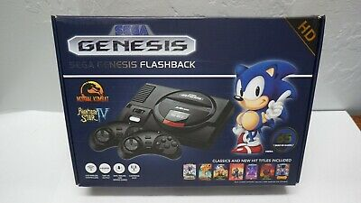 HDMI Sega Genesis Flashback HD  Classic Game Console Two Controllers 85 Games