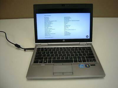 HP ELITEBOOK LAPTOP Windows 10 Pro Core i7 4GB RAM 250GB HDD