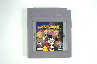 Disney Mickey Mouse Magic Wands Nintendo Game Boy 1998 GBA