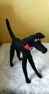 Belle - Original Huggyhound cuddly toy greyhound / whippet huggypuppy