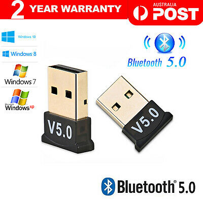 Mini Wireless USB Bluetooth V4.0 Dongle Adapter Receiver PC Win 7 8 10 XP VISTA