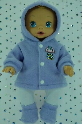 "Play n Wear Dolls Clothes For 13"" Baby Alive LILAC JACKET~TIGHTS~BOOTIES"