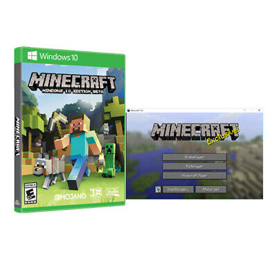 Minecraft Windows 10 Edition (1PC / Region Free / Activation Code / 100% Valid)