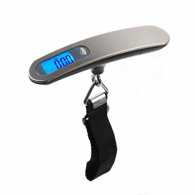 90lb Portable Electronic Digital Luggage Scale in Grey