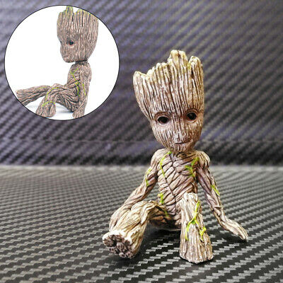 New 6CM Guardians of The Galaxy Baby Groot Figure Flowerpot Pen Pot Toy Gifts