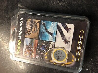 Freelap Stop Watch Timing Dh Ski Run Watch Only No Poles Brand New