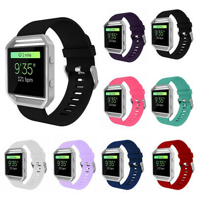 Replacement Silicone Sport Gel Band Strap Bracelet Wristband For Fitbit Blaze