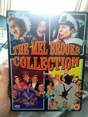 The Mel Brooks Collection - DVD. Young Frankenstein. Silent Movie. High Anxiety.